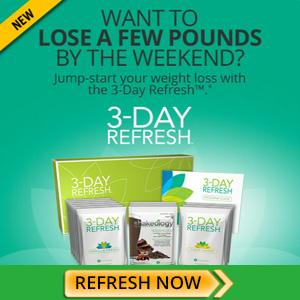 Learn more: 3 Day Refresh