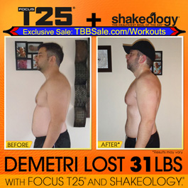 Demetri Feels Years Younger & Has a Ton More Energy!